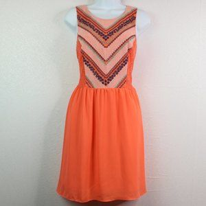 My Michelle Coral Embroidered / Crochet Dress 13